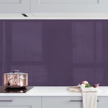 Küchenrückwand - Rotviolett