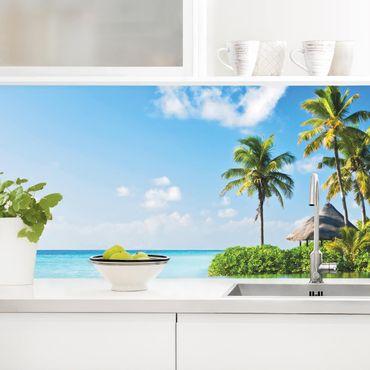 Küchenrückwand - Tropisches Paradies