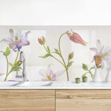 Küchenrückwand - Wald-Akelei