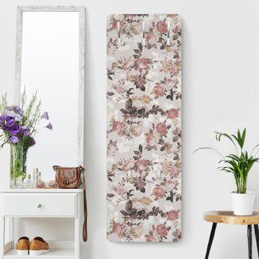 Landhaus Garderobe - Englische Rosen - im Landhausstil