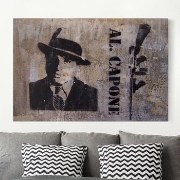 Leinwandbild - Al Capone - Quer 3:2