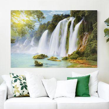 Leinwandbild - Amazon Waters - Quer 3:2