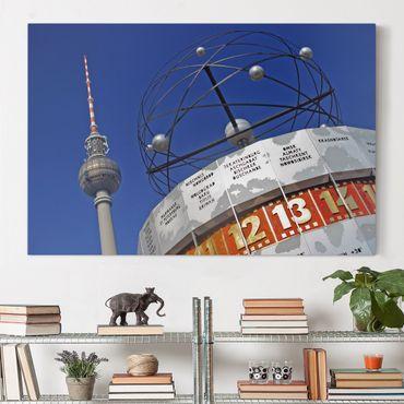 Leinwandbild - Berlin Alexanderplatz - Quer 3:2