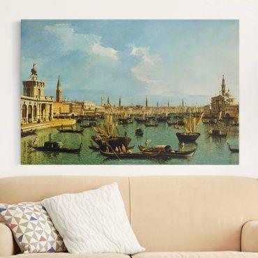 Leinwandbild - Bernardo Bellotto - Bacino di San Marco, Venedig - Quer 3:2