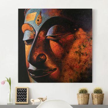 Leinwandbild - Bombay Buddha - Quadrat 1:1