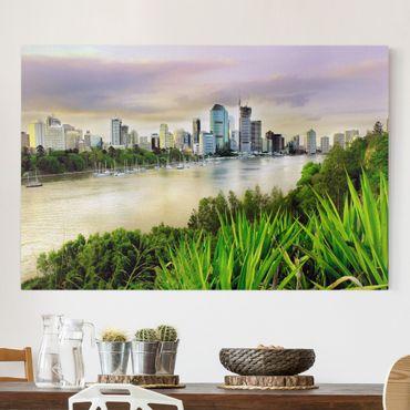 Leinwandbild - Brisbane - Quer 3:2