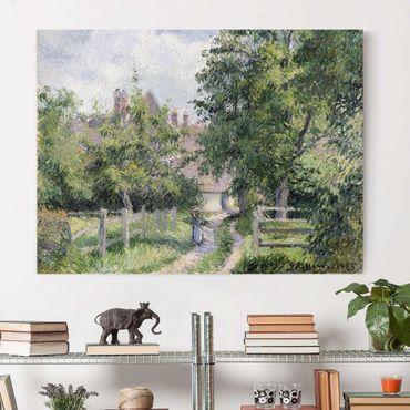 Leinwandbild - Camille Pissarro - Saint-Martin bei Gisors - Quer 4:3