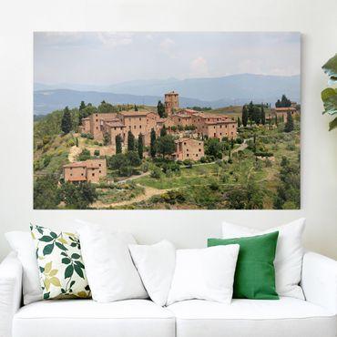 Leinwandbild - Charming Tuscany - Quer 3:2