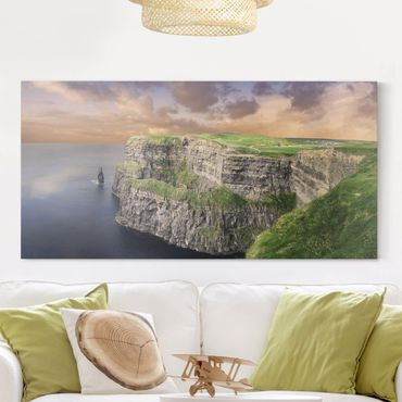 Leinwandbild - Cliffs Of Moher - Quer 2:1