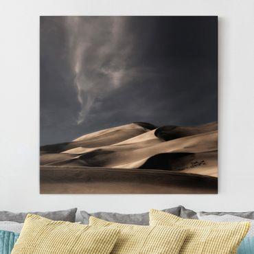 Leinwandbild - Colorado Dünen - Quadrat 1:1