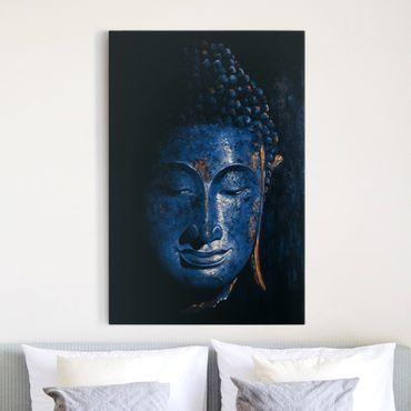 Leinwandbild - Delhi Buddha - Hoch 2:3