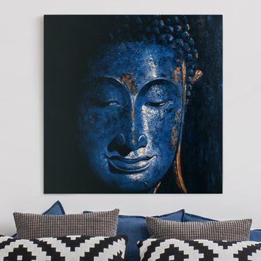 Leinwandbild - Delhi Buddha - Quadrat 1:1