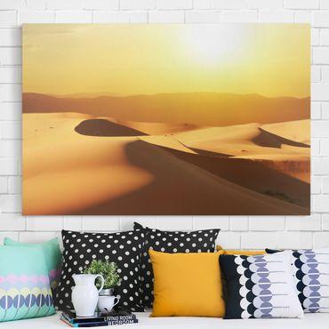 Leinwandbild - Die Wüste Saudi Arabiens - Quer 3:2