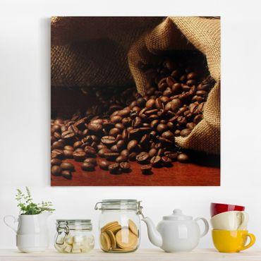 Leinwandbild - Dulcet Coffee - Quadrat 1:1