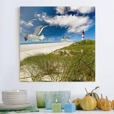 Leinwandbild - Dune Breeze - Quadrat 1:1