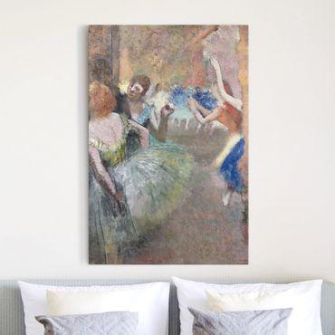 Leinwandbild - Edgar Degas - Ballettszene - Hoch 2:3