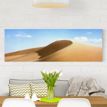 Leinwandbild - Fantastic Dune - Panorama Quer