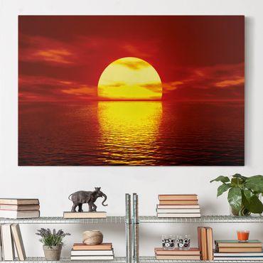 Leinwandbild - Fantastic Sunset - Quer 3:2