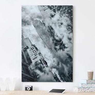 Leinwandbild - Fassade des Empire State Buildings - Hoch 2:3