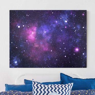 Leinwandbild - Galaxie - Quer 4:3