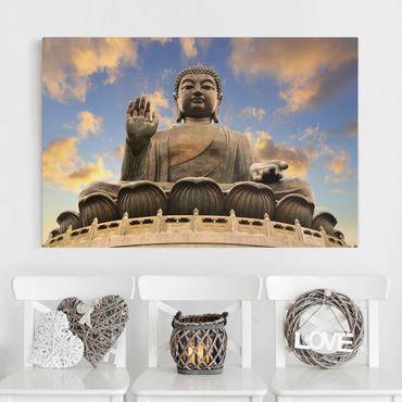 Leinwandbild - Großer Buddha - Quer 3:2
