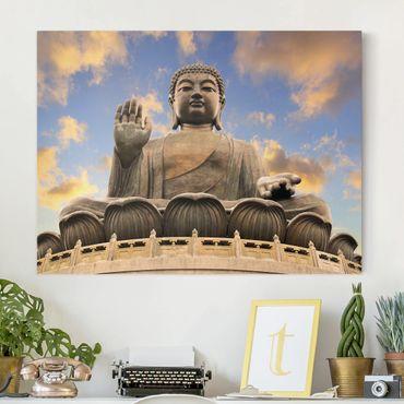 Leinwandbild - Großer Buddha - Quer 4:3