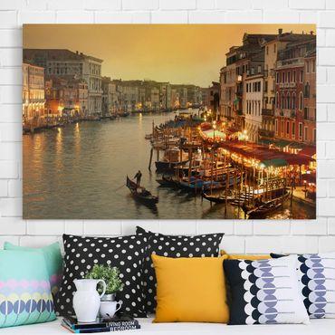 Leinwandbild - Großer Kanal von Venedig - Quer 3:2