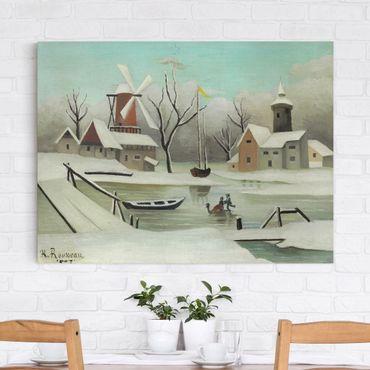 Leinwandbild - Henri Rousseau - Der Winter - Quer 4:3