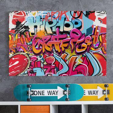 Leinwandbild - HipHop Graffiti - Quer 3:2