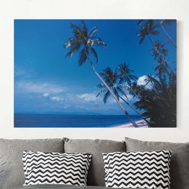 Leinwandbild - Mauritius Beach - Quer 3:2