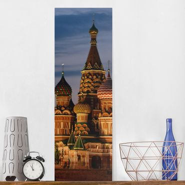 Leinwandbild - Moskwa - Panorama Hoch
