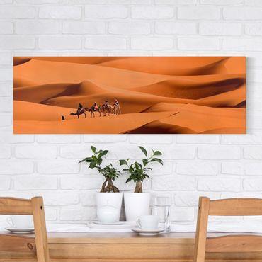 Leinwandbild - Namib Desert - Panorama Quer