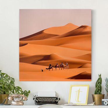 Leinwandbild - Namib Desert - Quadrat 1:1