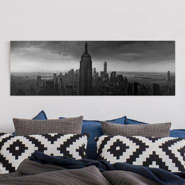 Leinwandbild - New York Rockefeller View - Panorama Quer