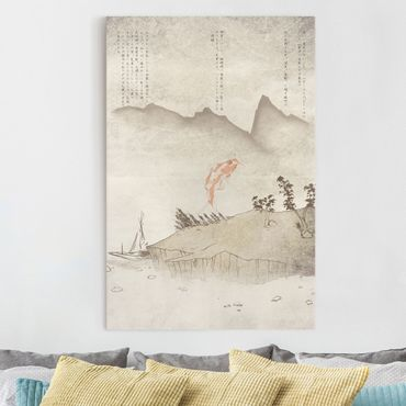 Leinwandbild - No.MW8 Japanische Stille - Hoch 2:3