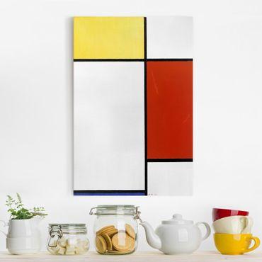 Leinwandbild - Piet Mondrian - Komposition I - Hoch 2:3