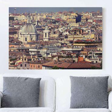 Leinwandbild - Rome Rooftops - Quer 3:2