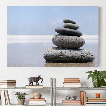 Leinwandbild - Sand Stones - Quer 3:2