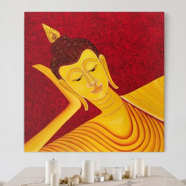 Leinwandbild - Taipei Buddha - Quadrat 1:1