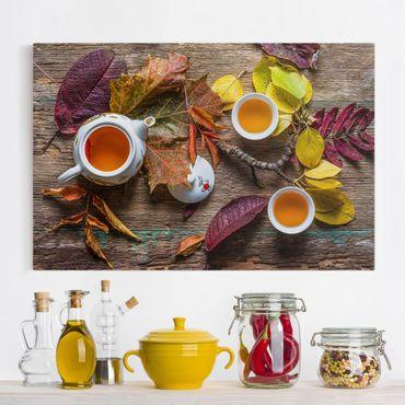 Leinwandbild - Tee im September - Quer 3:2