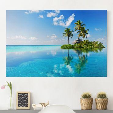 Leinwandbild - Tropisches Paradies - Quer 3:2