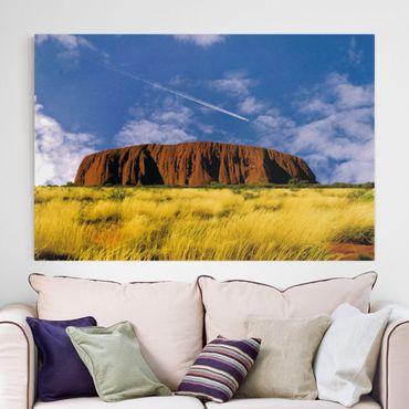Leinwandbild - Uluru - Quer 3:2