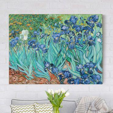 Leinwandbild - Vincent van Gogh - Iris - Quer 4:3