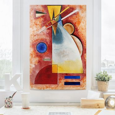 Leinwandbild - Wassily Kandinsky - Ineinander - Hoch 2:3