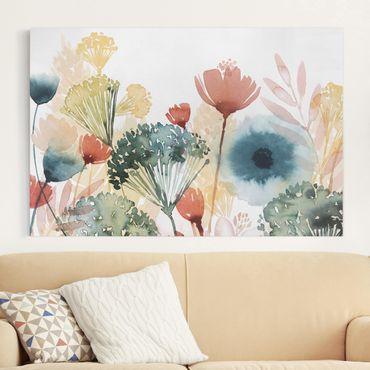 Leinwandbild - Wildblumen im Sommer I - Querformat 2:3