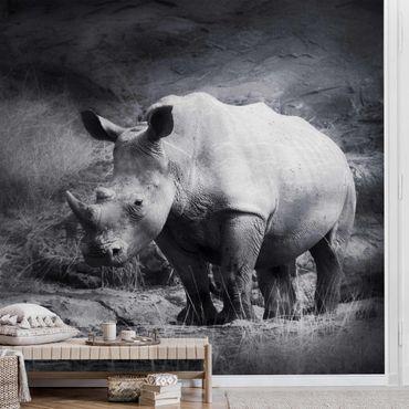 Metallic Tapete  - Lonesome Rhinoceros