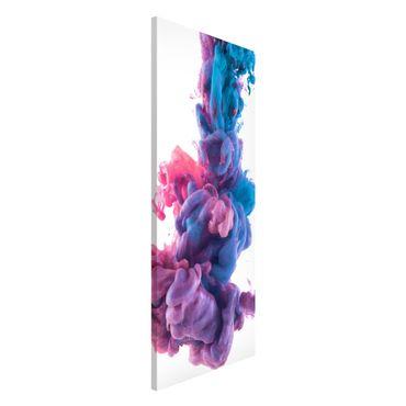 Magnettafel - Abstrakte flüssige Farbe - Memoboard Panorama Hoch