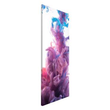 Magnettafel - Abstrakter flüssiger Farbeffekt - Memoboard Panorama Hoch