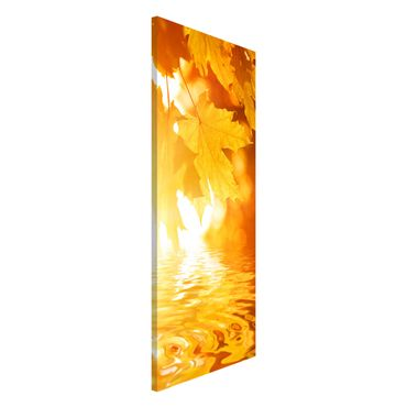 Magnettafel - Autumn Leaves - Memoboard Panorama Hoch