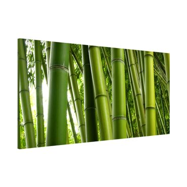 Magnettafel - Bamboo Trees - Memoboard Panorama Quer